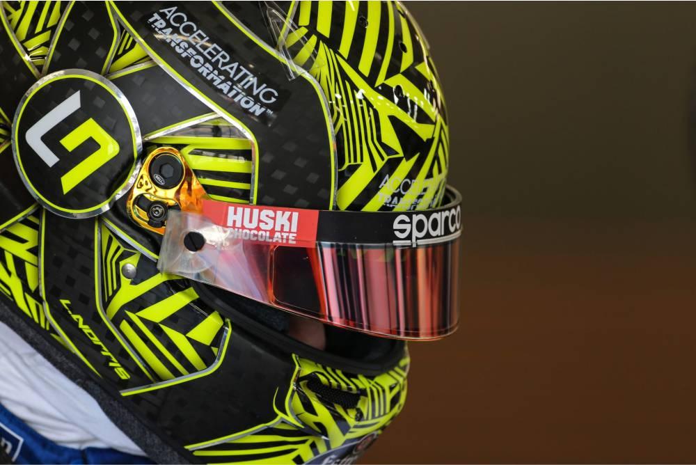 Lando Norris 2020 McLaren Formula 1 Driver Helmet Design