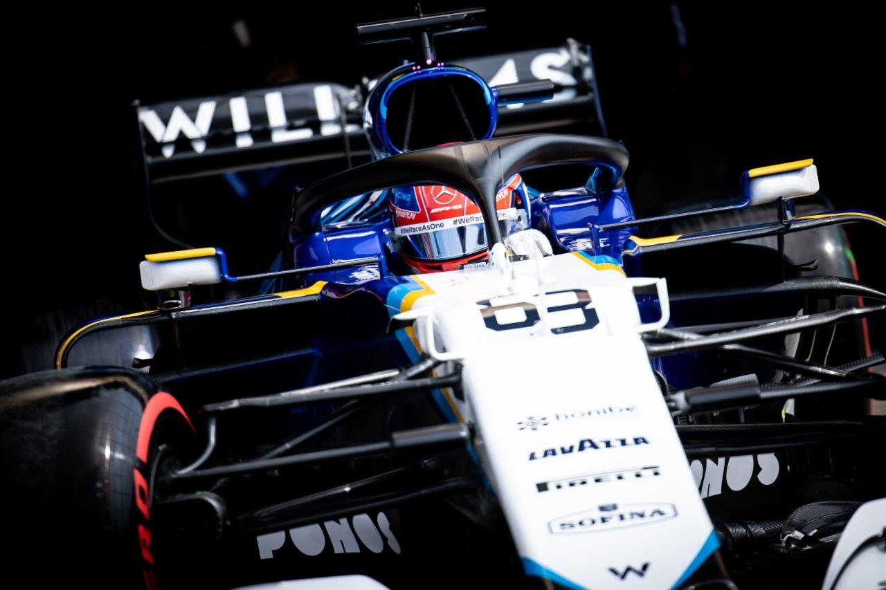 George Russell Williams Racing F1 Driver Helmet 2021