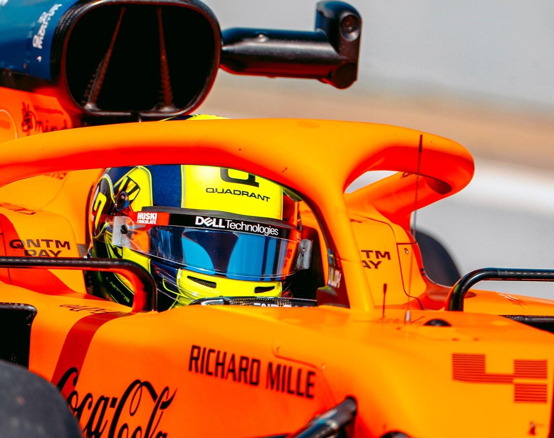 Lando Norris Formula 1 Helmet 2021