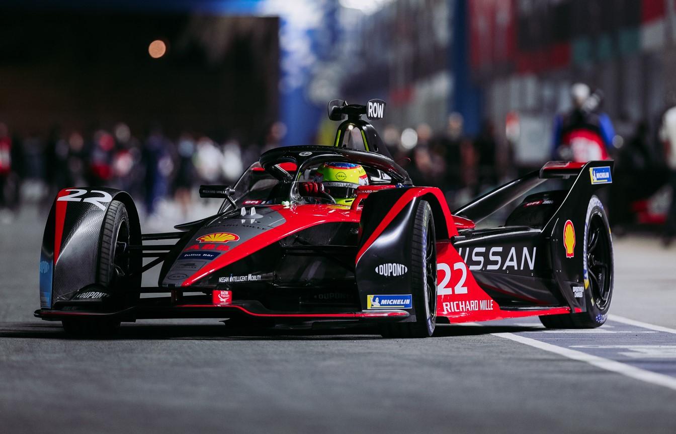 Oliver Rowland 2021 FIA Formula E Helmet Design