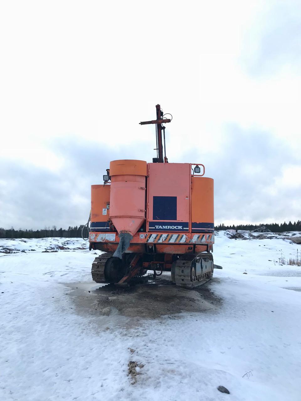 Tamrock Ranger 500 / Sandvik DQ500