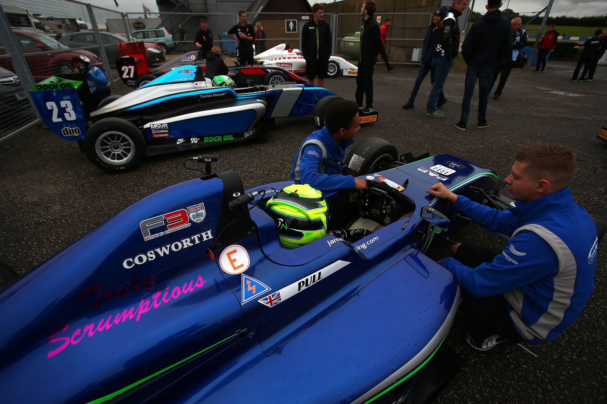 James Pull excited to make step up to BRDC British F3 with