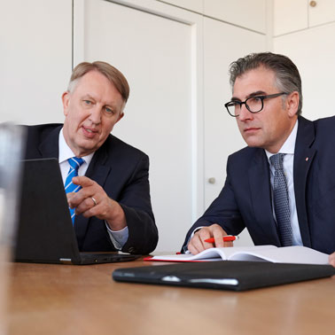 Geschäftsführer – CEO, Kaufmännischer Geschäftsführer – CFO