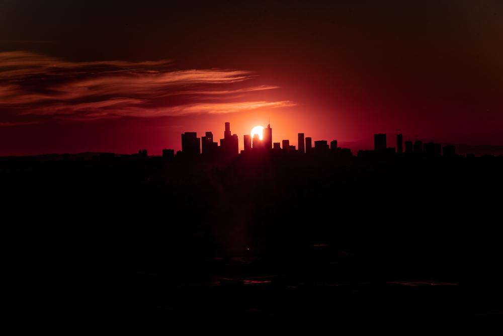 LA Sunrise