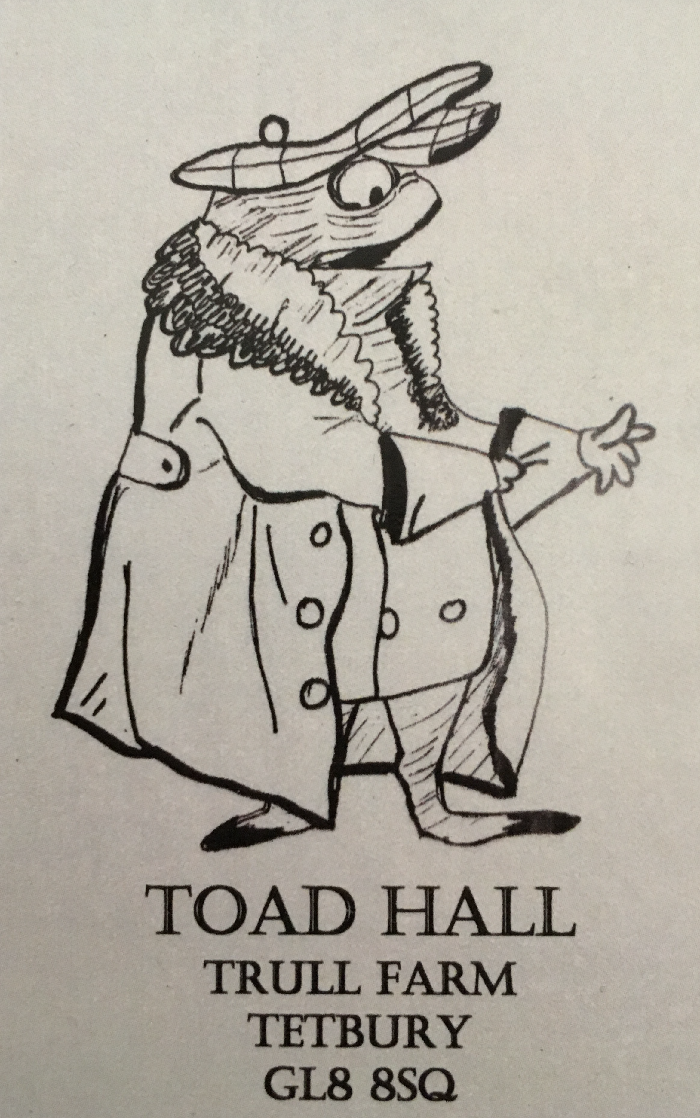 Toad Hall YTrull Farm