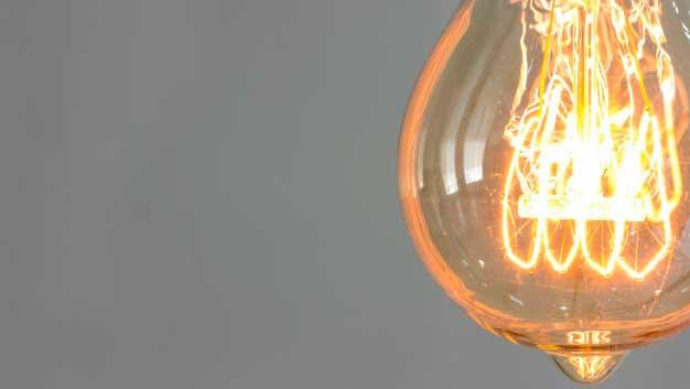 Lampada acessa
