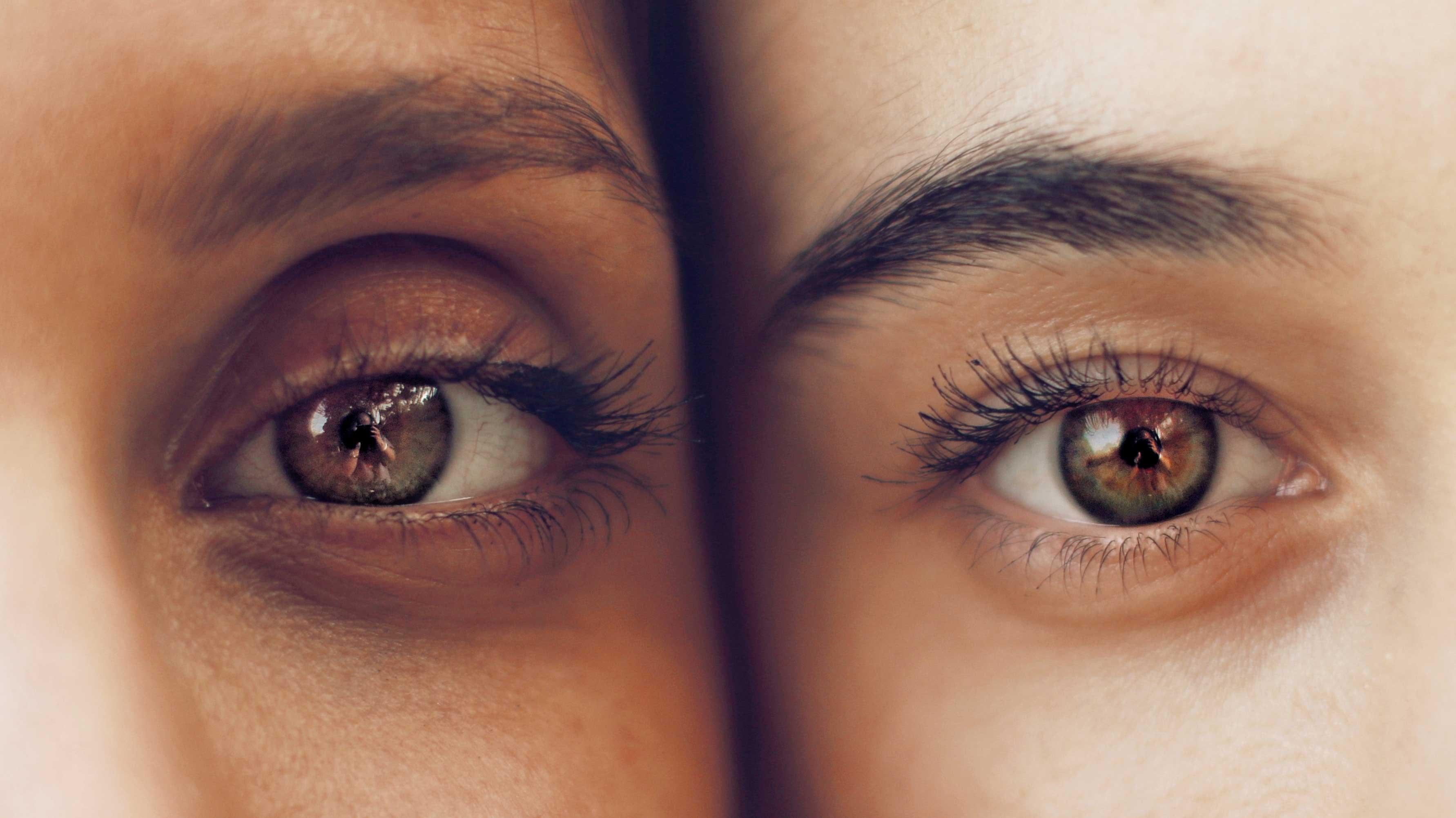 Olhos iguais