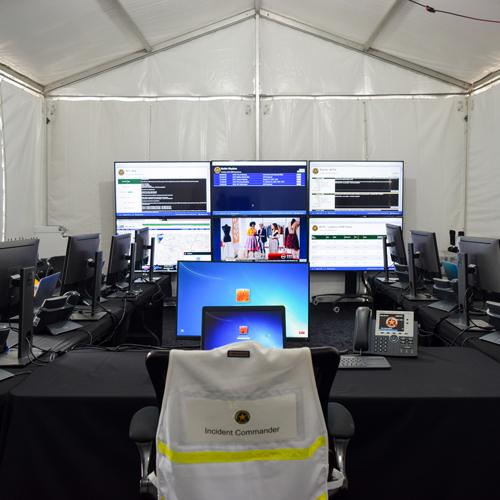 Emergency Response Tent