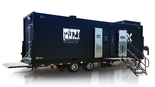 RK Mobile Dishwashing Trailer