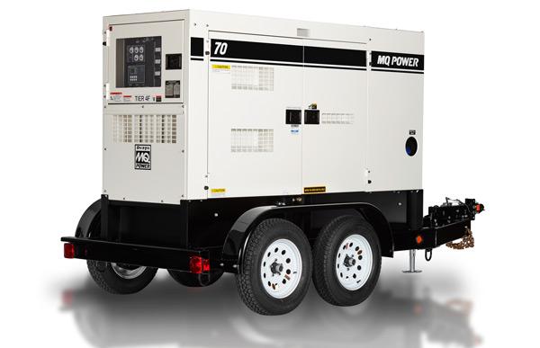 70kW Mobile Generator