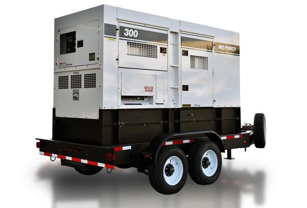 300kW Mobile Generator