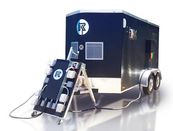 30kW Mobile Generator