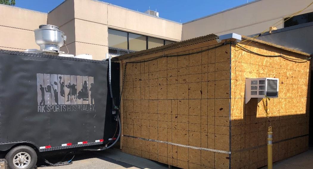 ventilation truck exterior