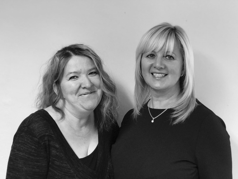Jo Watson & Kerry Tighe - Accounts team
