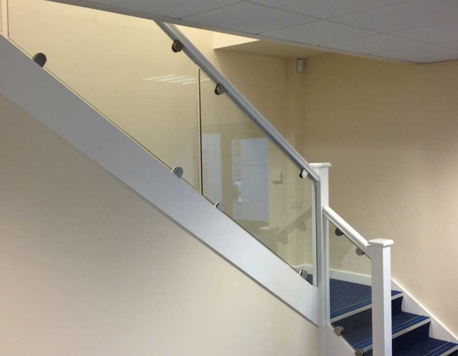 Photo of Stairscase and Clear Glass