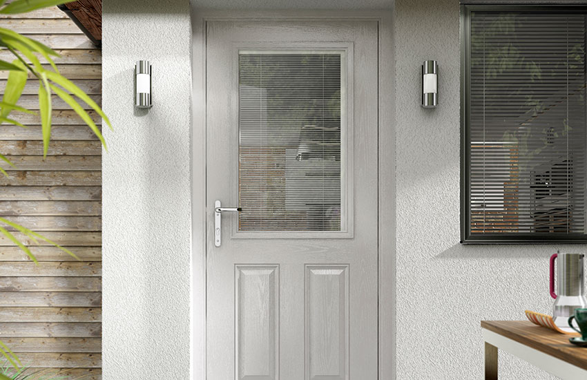 Modern Composite Door Battle