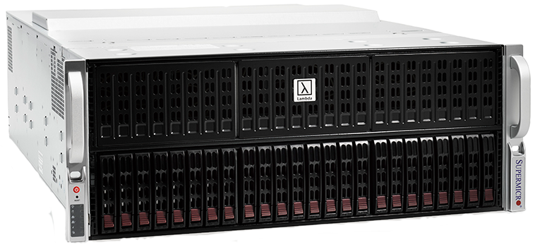 Lambda Blade - Deep Learning Server with 8x GPUs