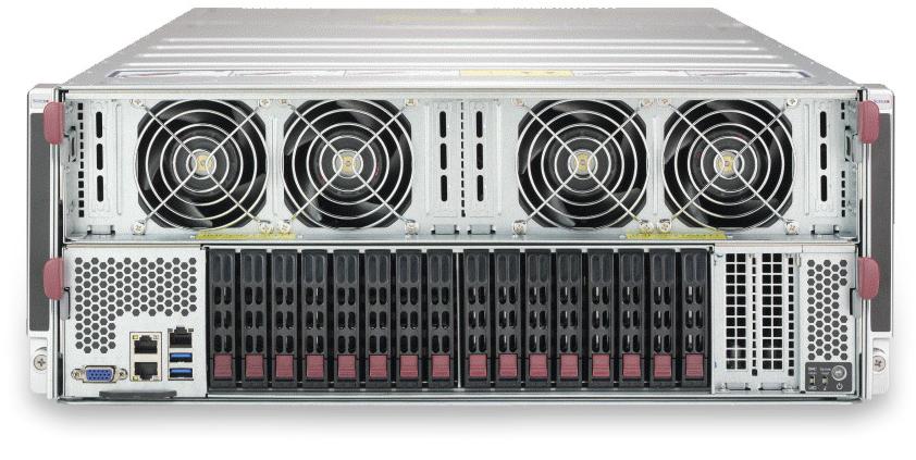 Lambda Hyperplane - Tesla V100 Server with NVLink