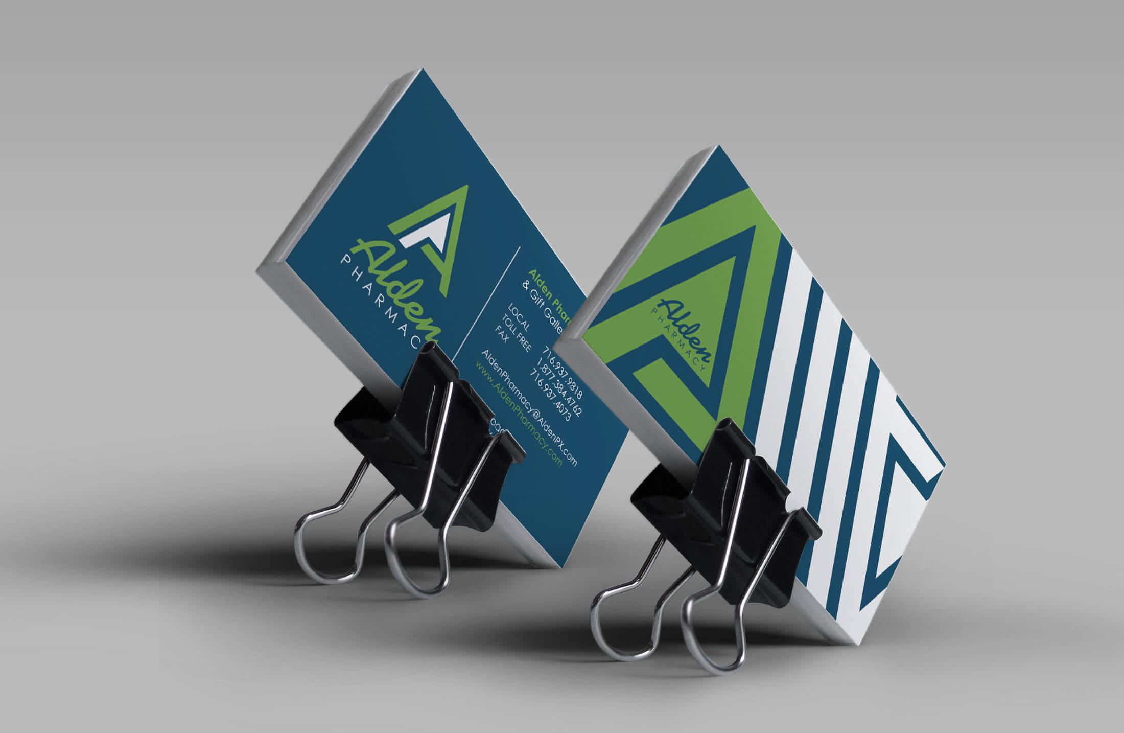 Alden Pharmacy Business Card