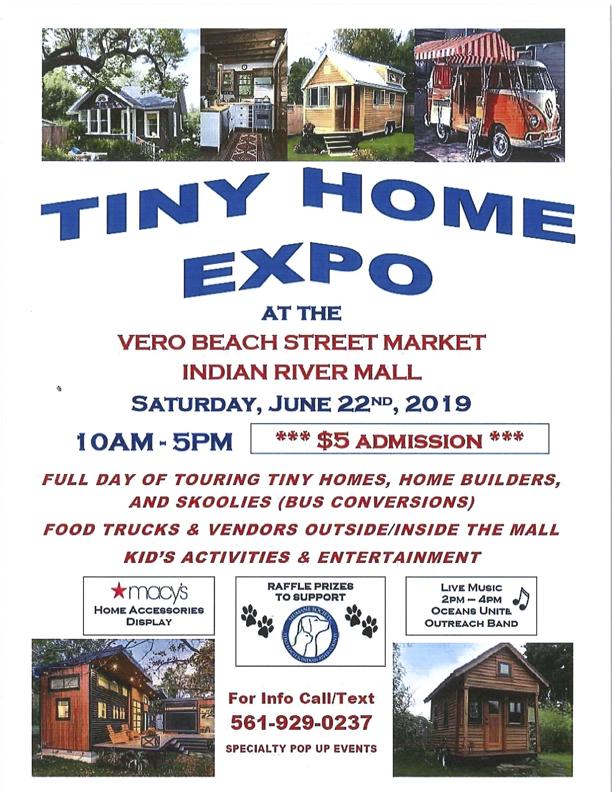 Tiny home expo flyer
