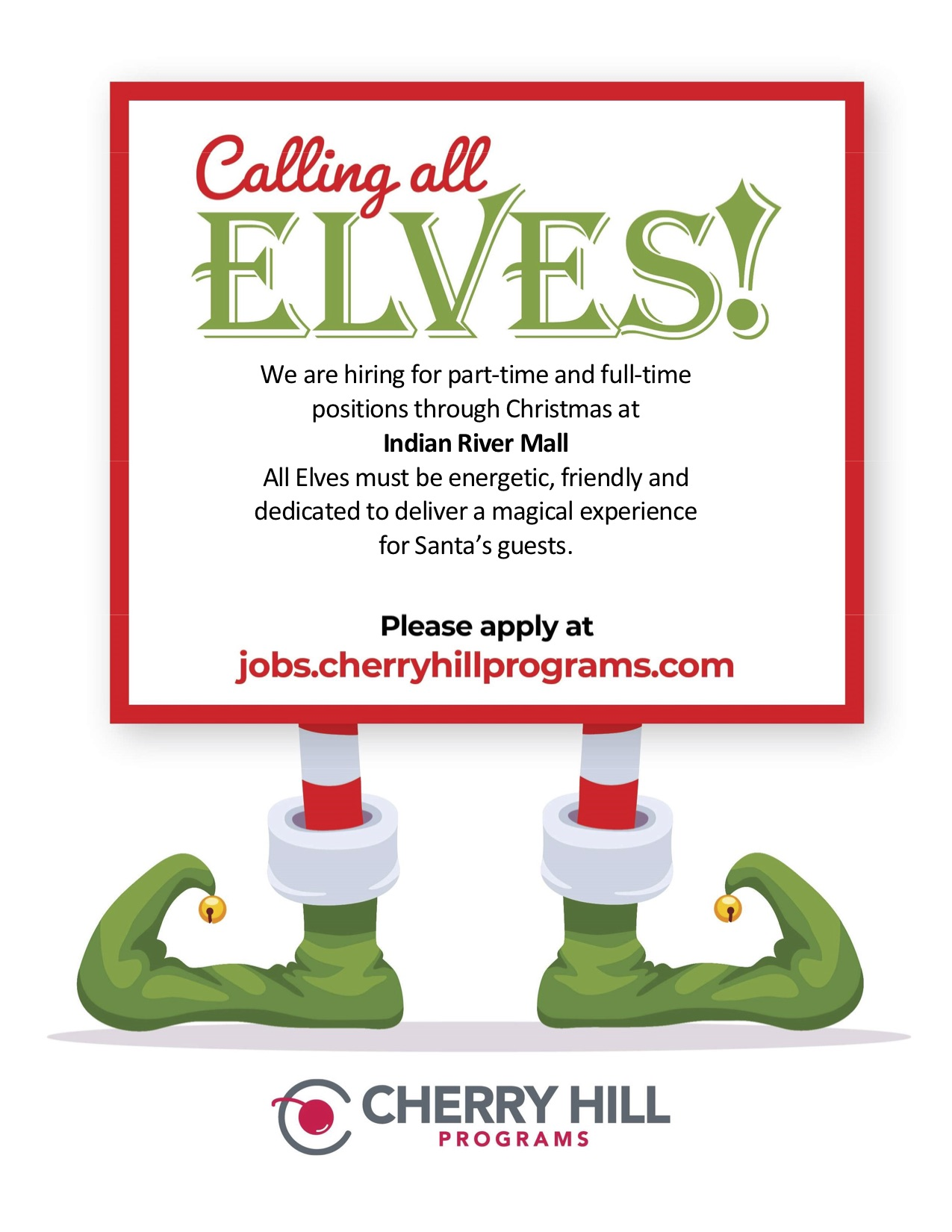 hiring elves at indian river mall
