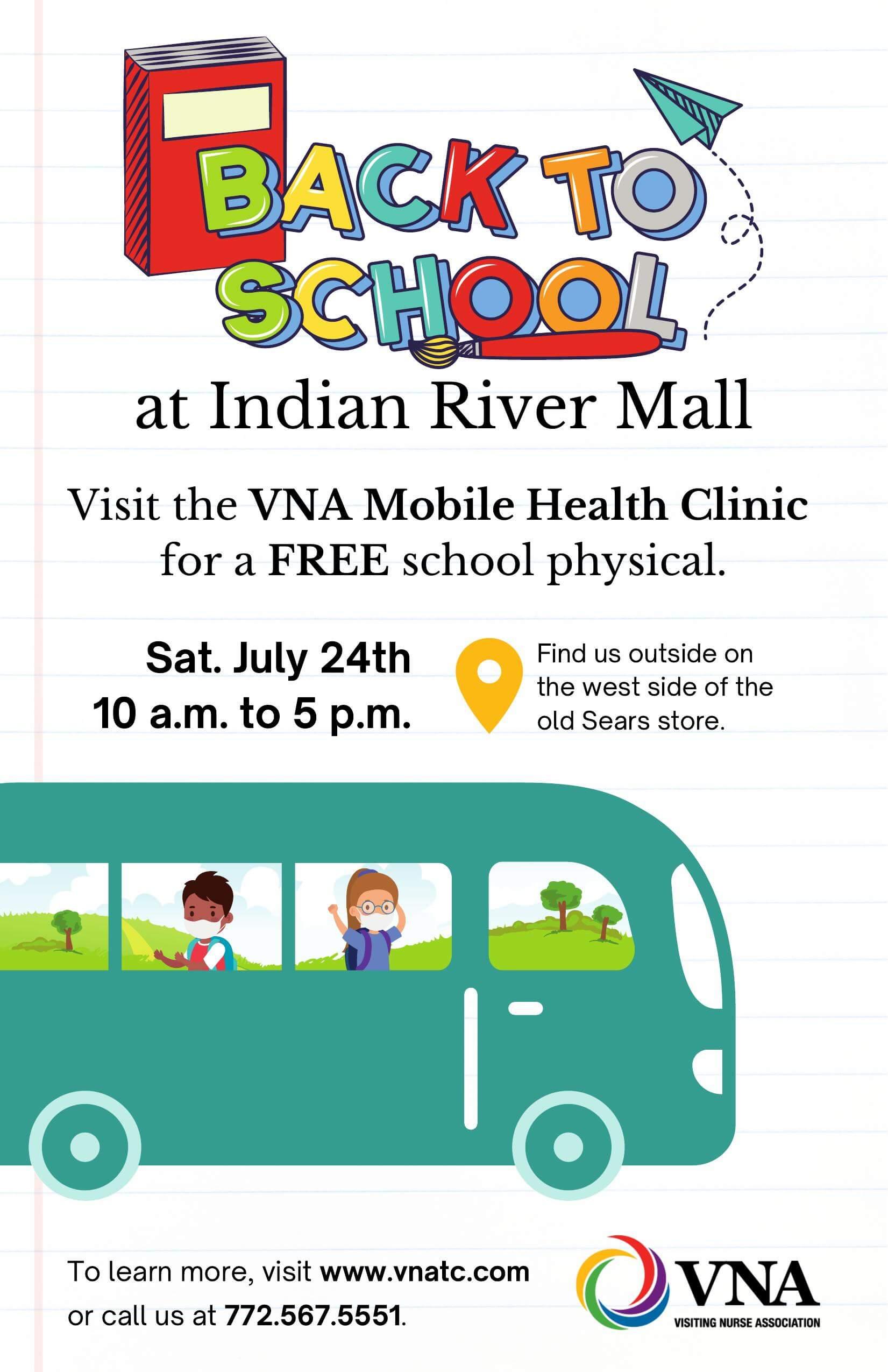 VNA Mobile Clinic Poster