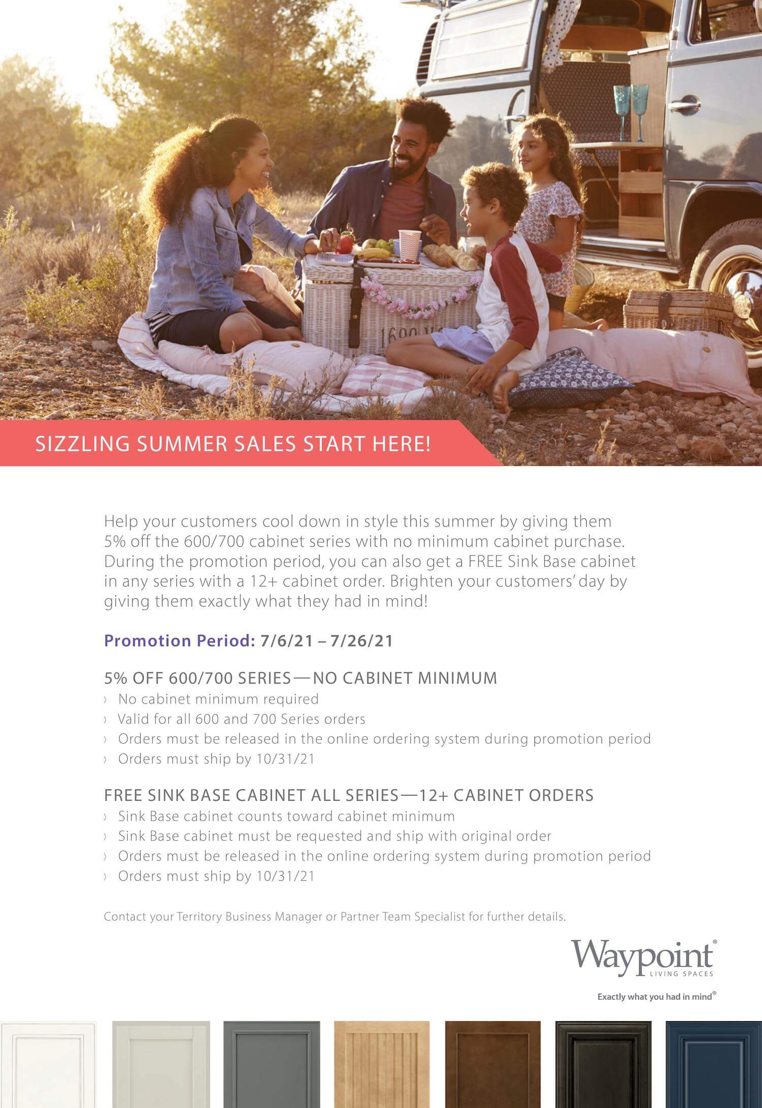 SIZZLING SUMMER SALES poster