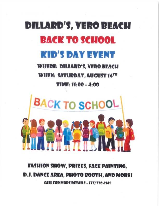 Back to School Event Poster