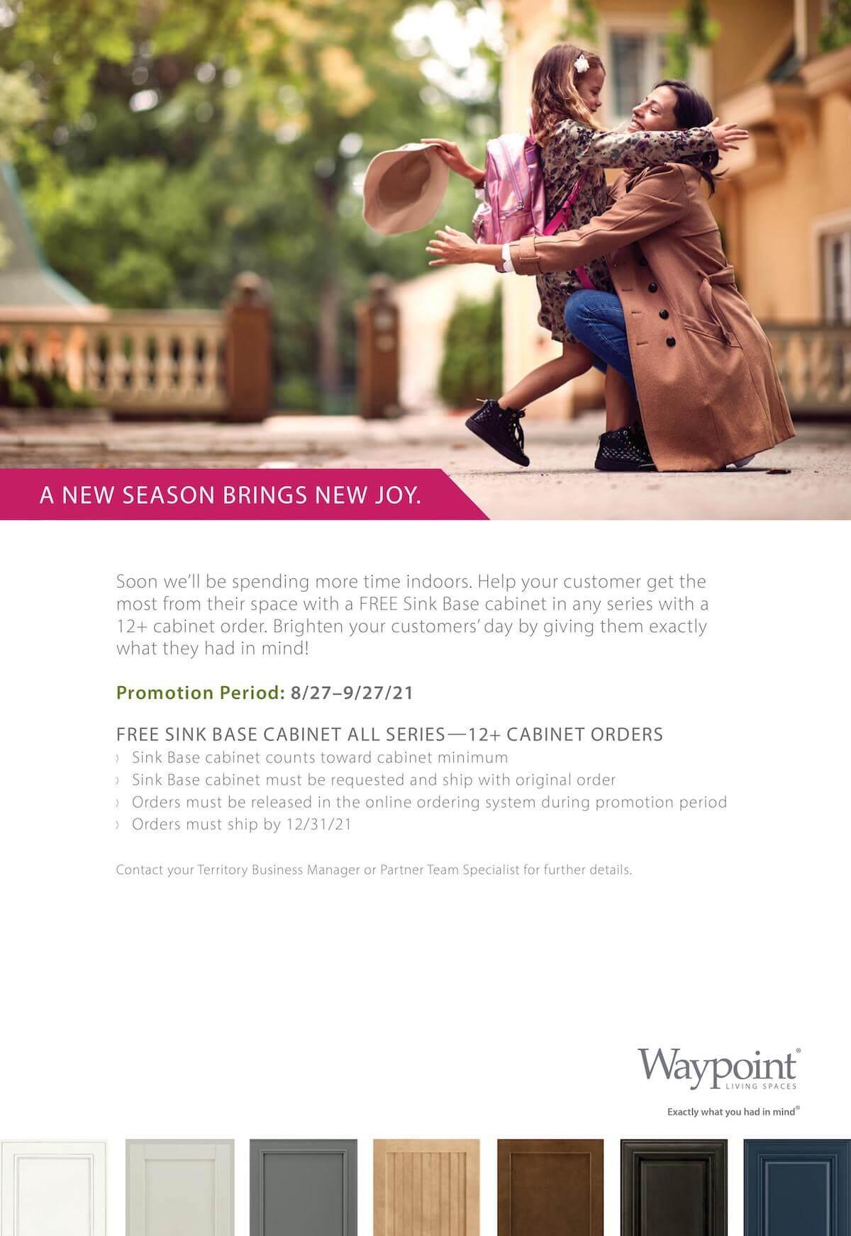 Cabinet Express promotional flyer
