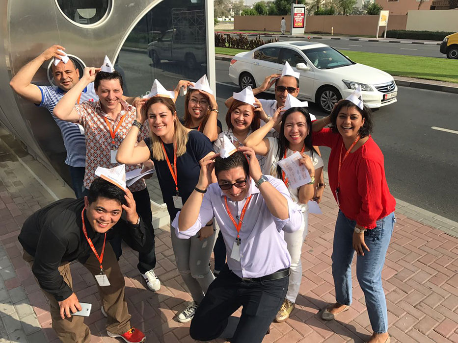 Gourmet Gulf team