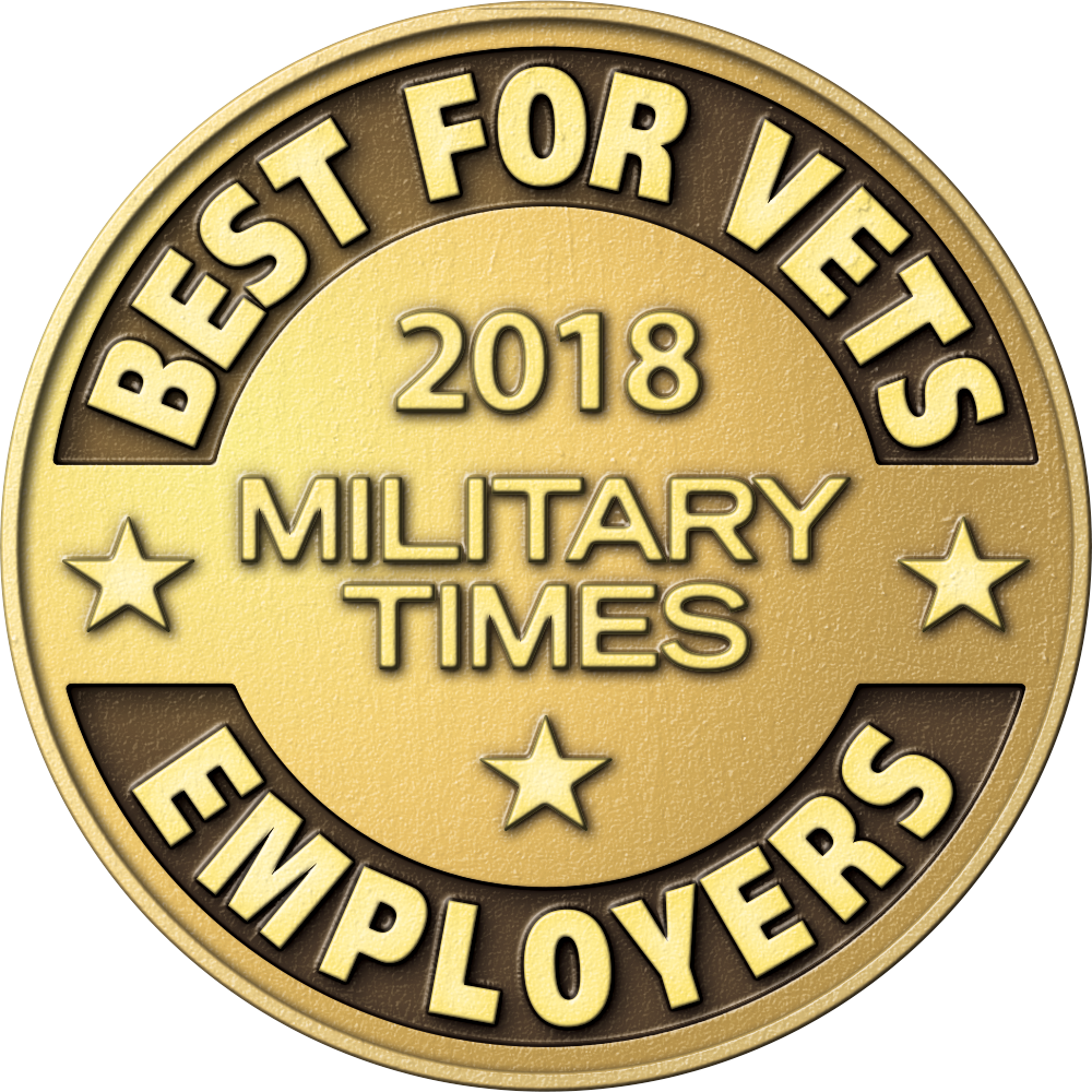 2018 Military Times Best Employers for Veterans
