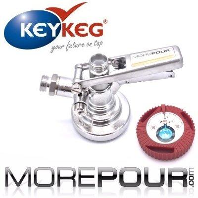 Keykeg coupler connector fitting