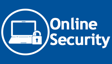A blue button that takes you to Online Security information