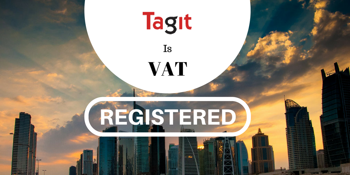 Tagit RFID Solutions is VAT Registered