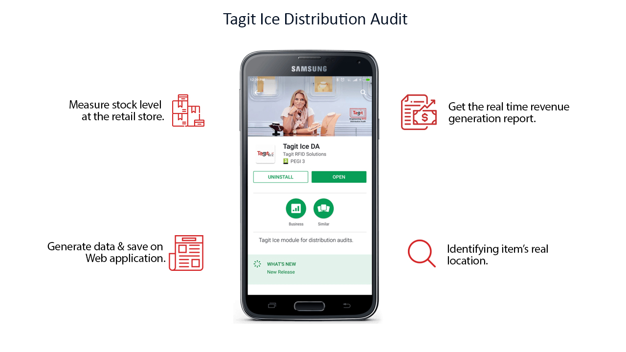 Tagit Ice for Distributor