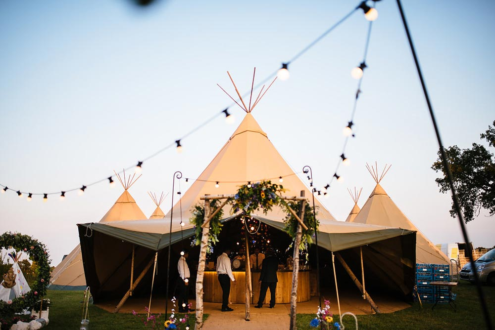 Picture of tipi