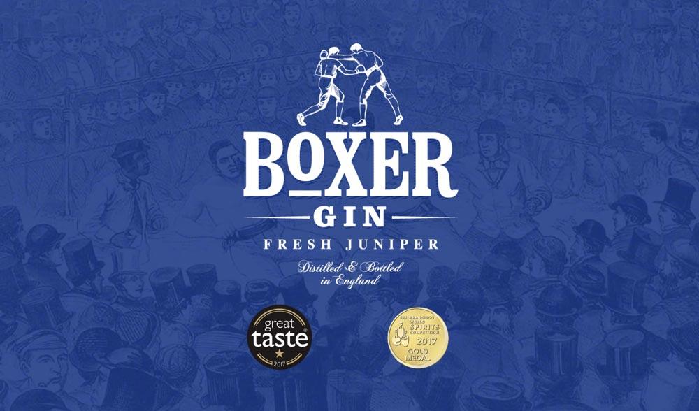 Boxer gin logo