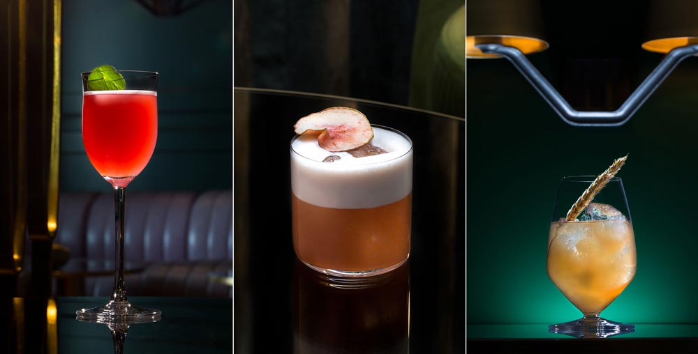 Images of beautiful cocktails