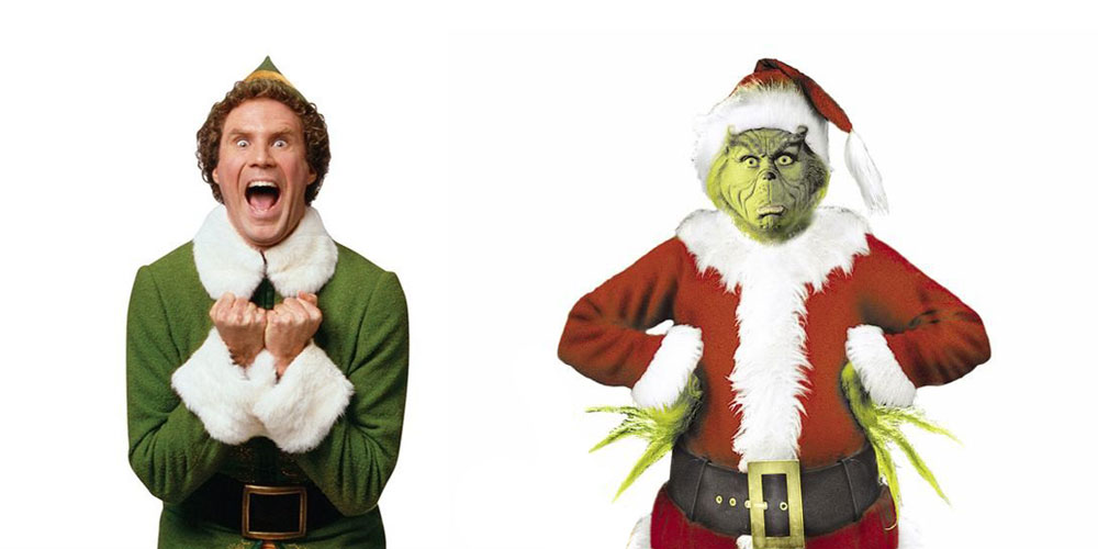 Elf & The Grinch