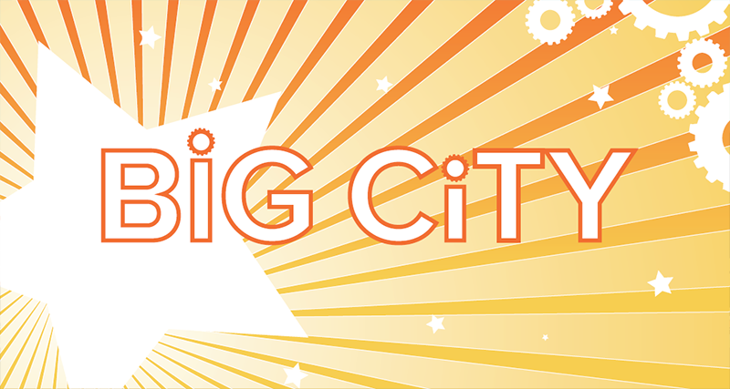 Big City Room Sign