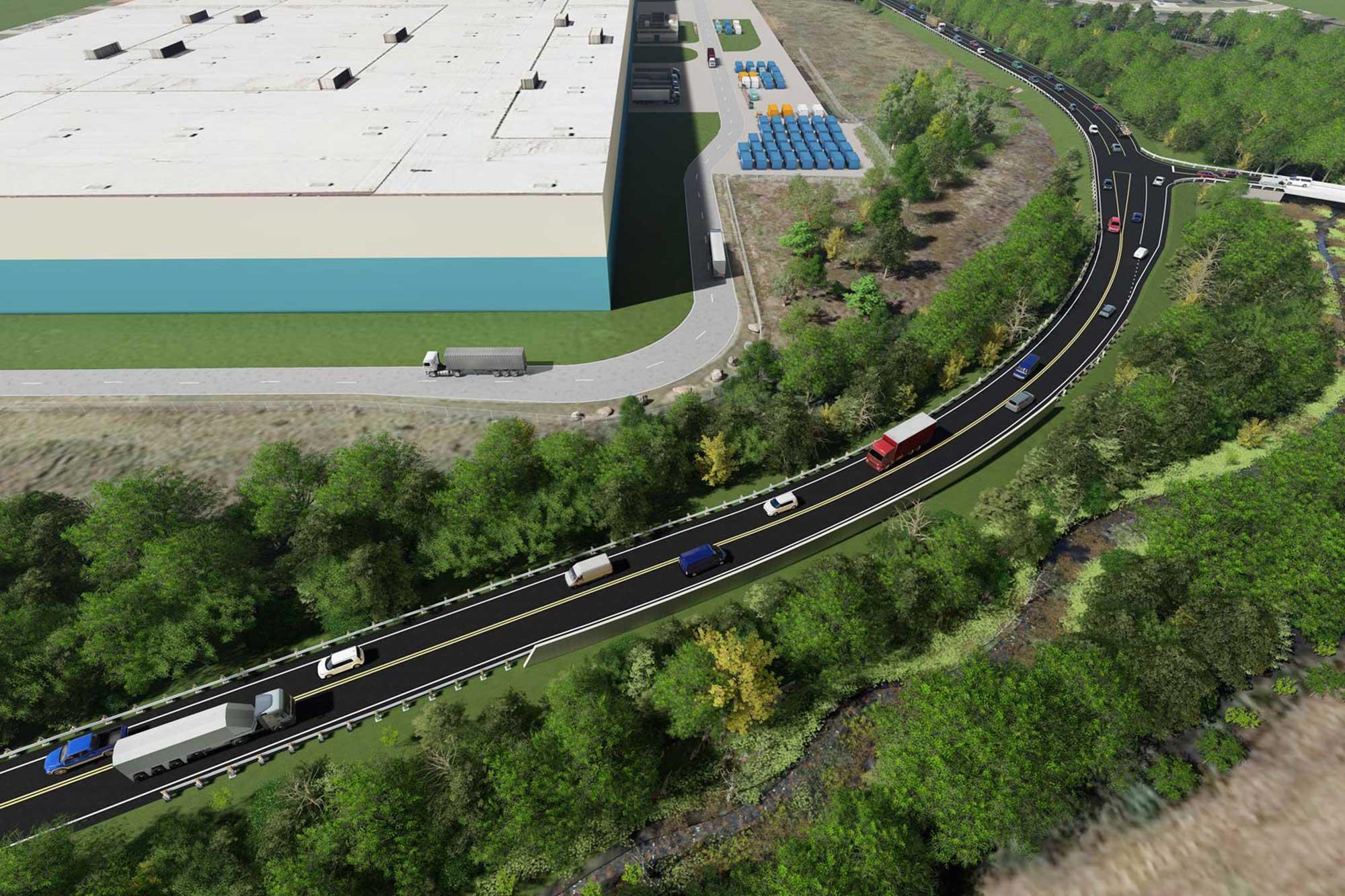General Motors Plant Saturn Parkway Extension