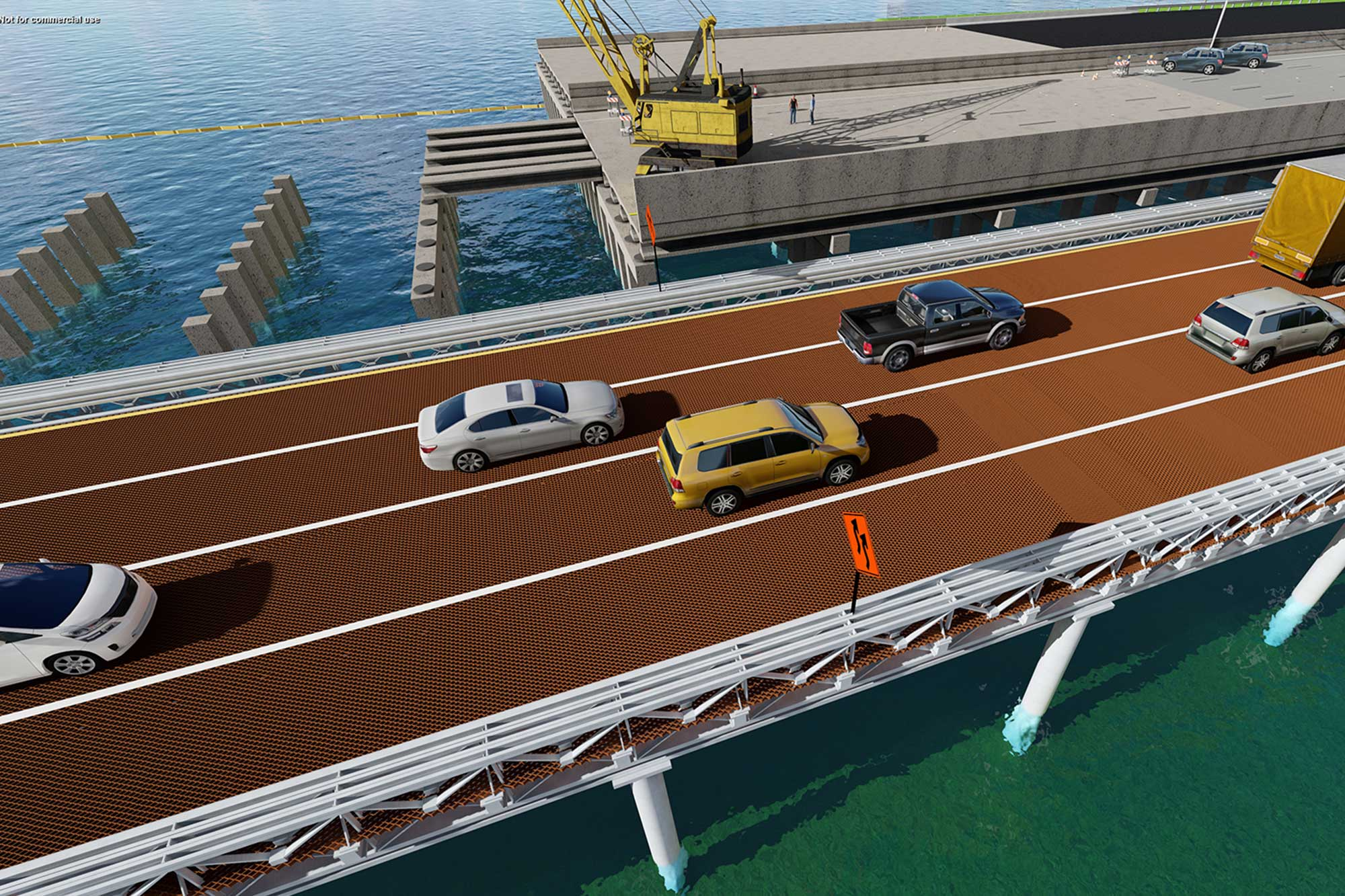 SR 60 Plan and Elevation (Courtney Campbell Causeway)