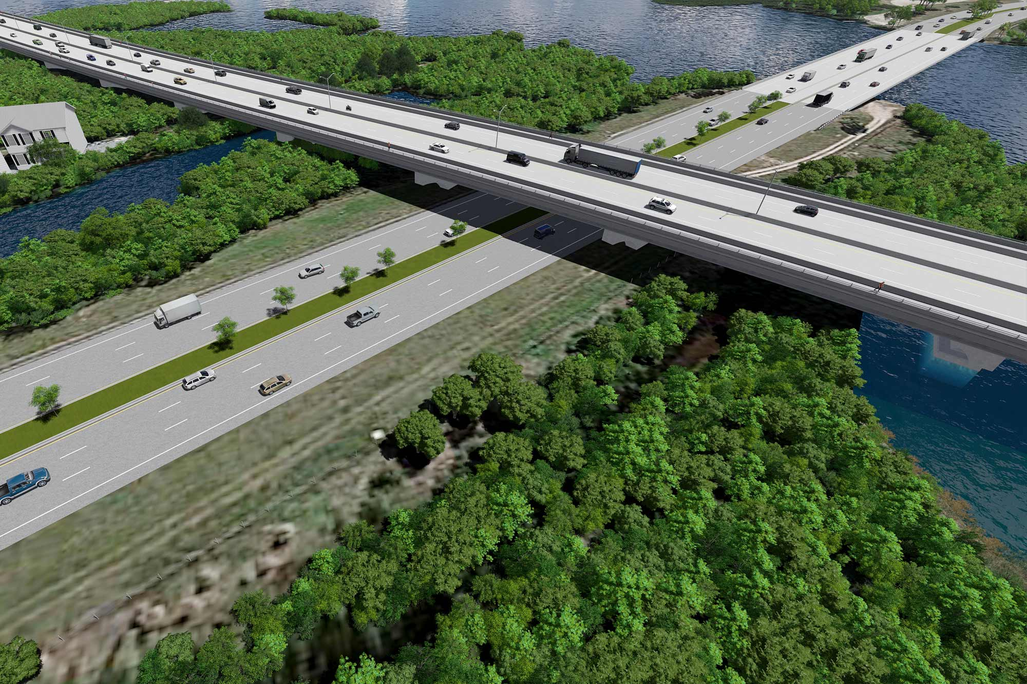 Bridge over Roadway