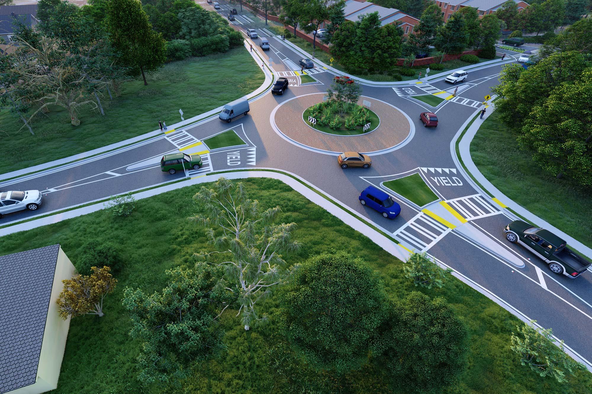 Windsor Parkway/Osborne Road Intersection Improvement