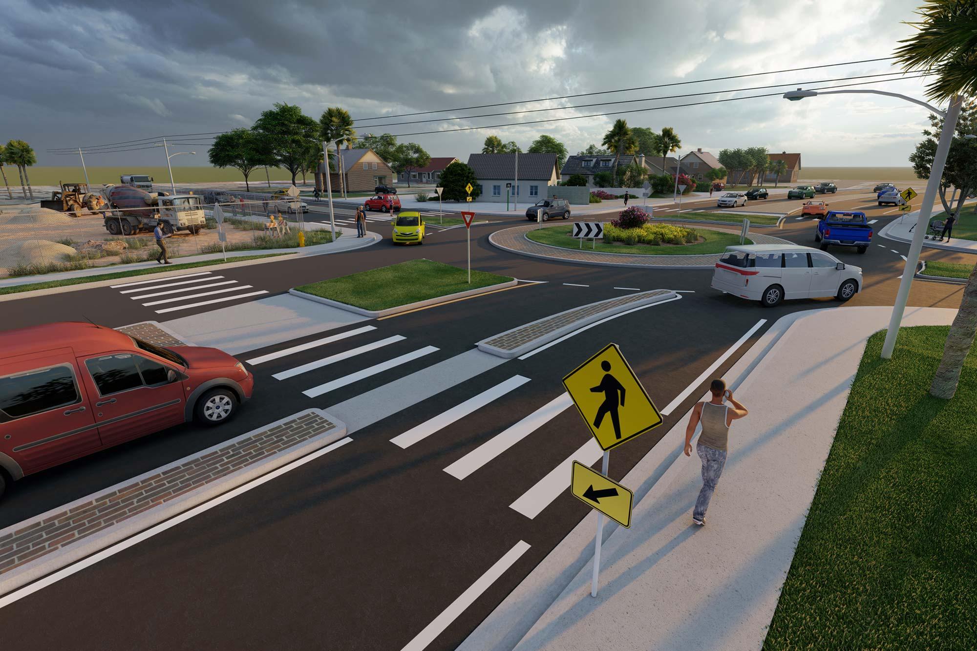 Osborn Rd. & Miller Rd. Intersection Improvements