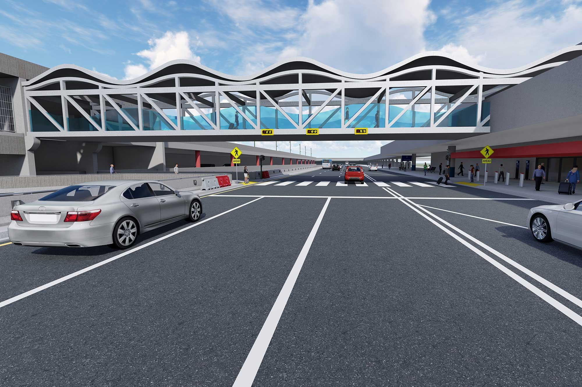 Airport Cross Walk Signalization Lighting & Technology Improvements