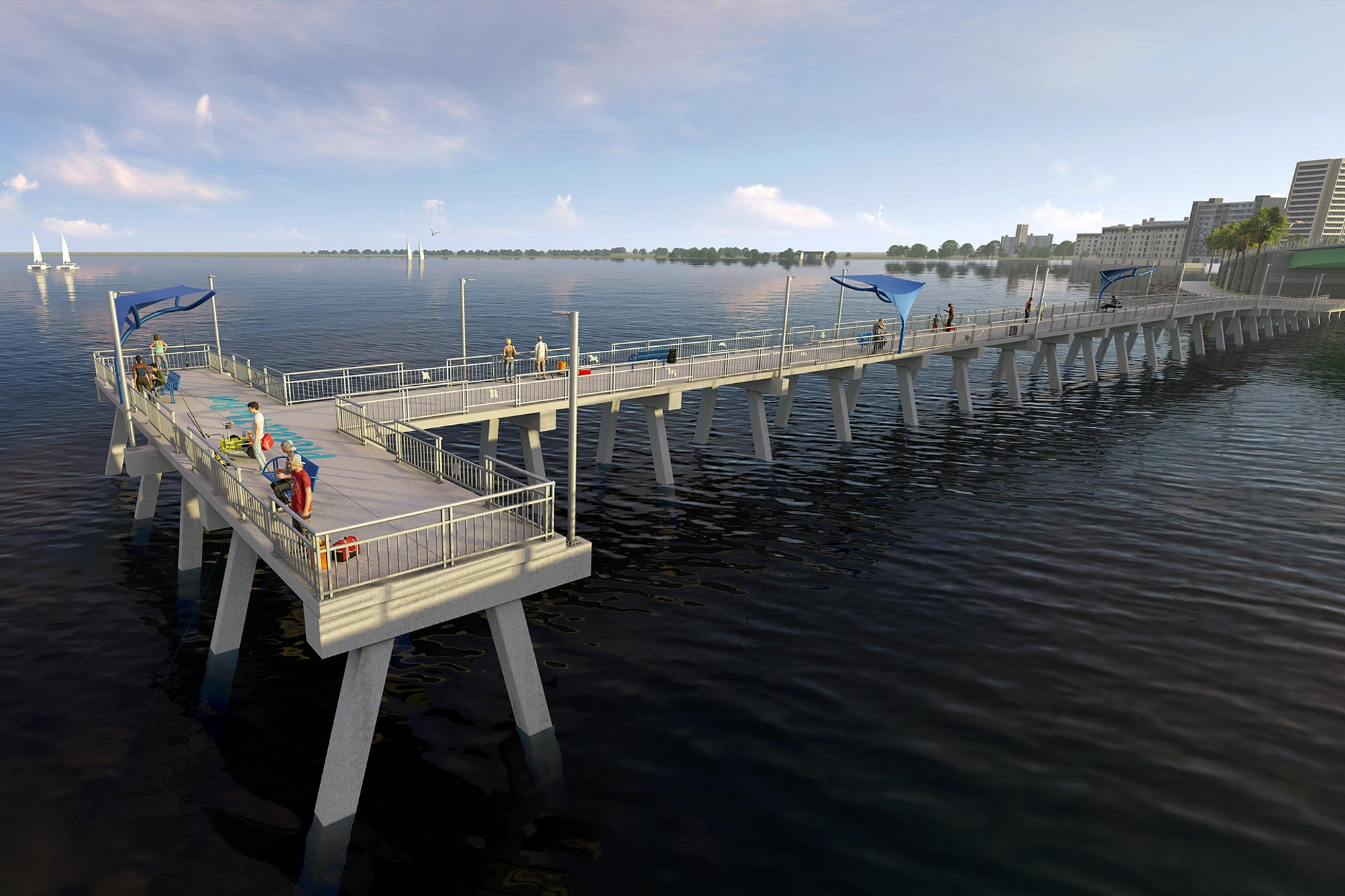 Sarasota Fishing Pier Rehabilitation