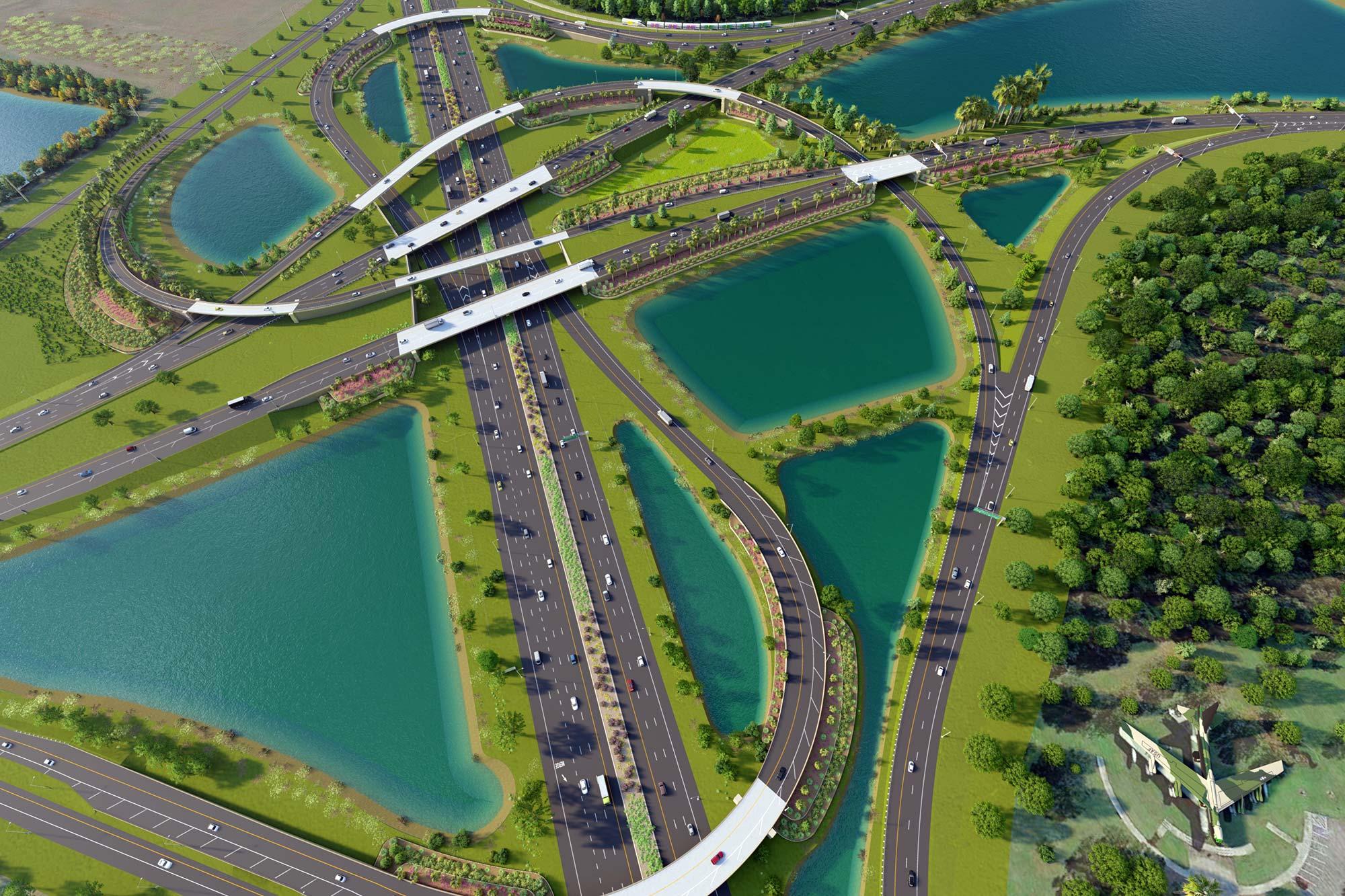 SR 528/SR 436 Interchange
