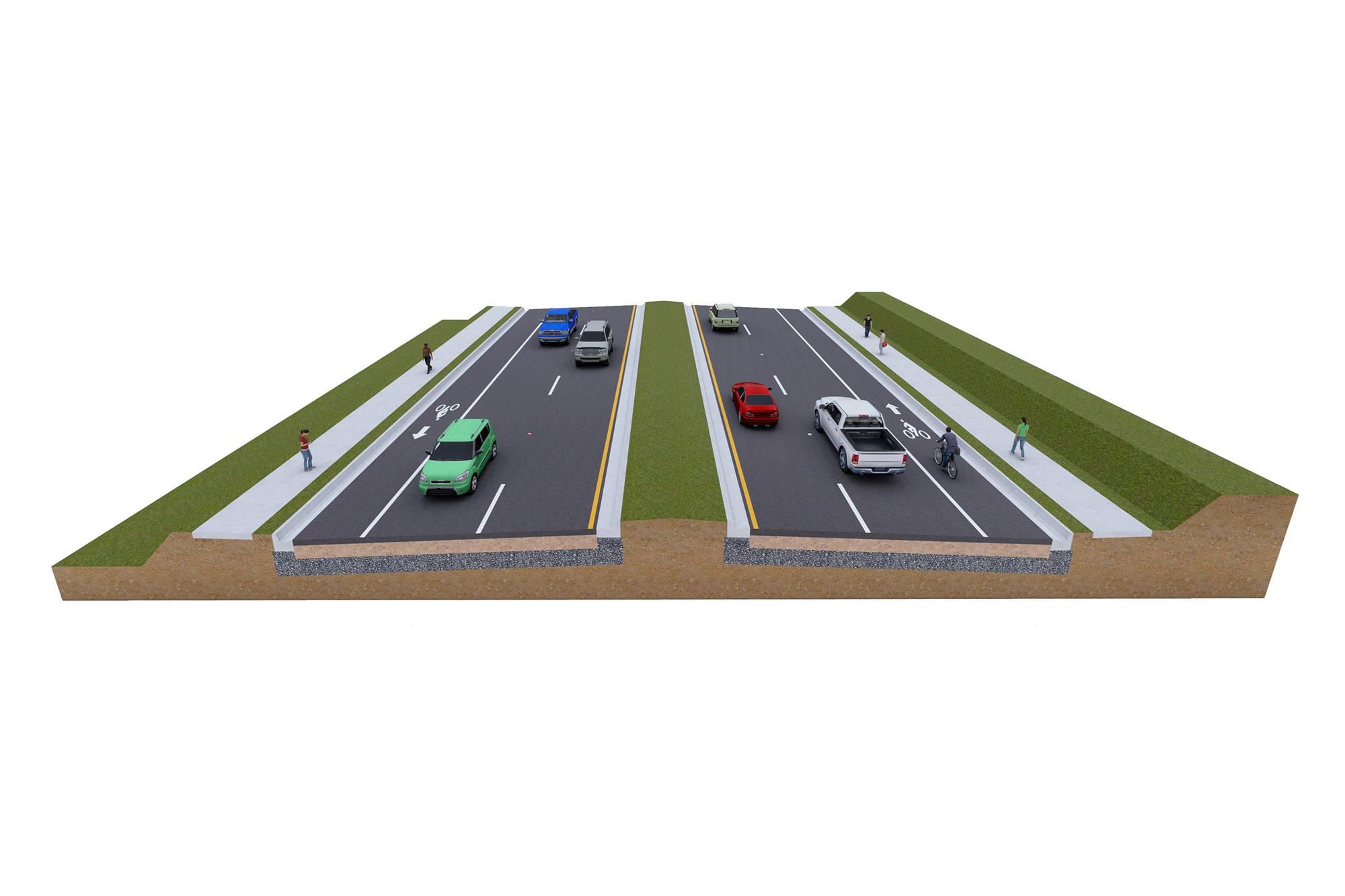 SR 544 Roadway