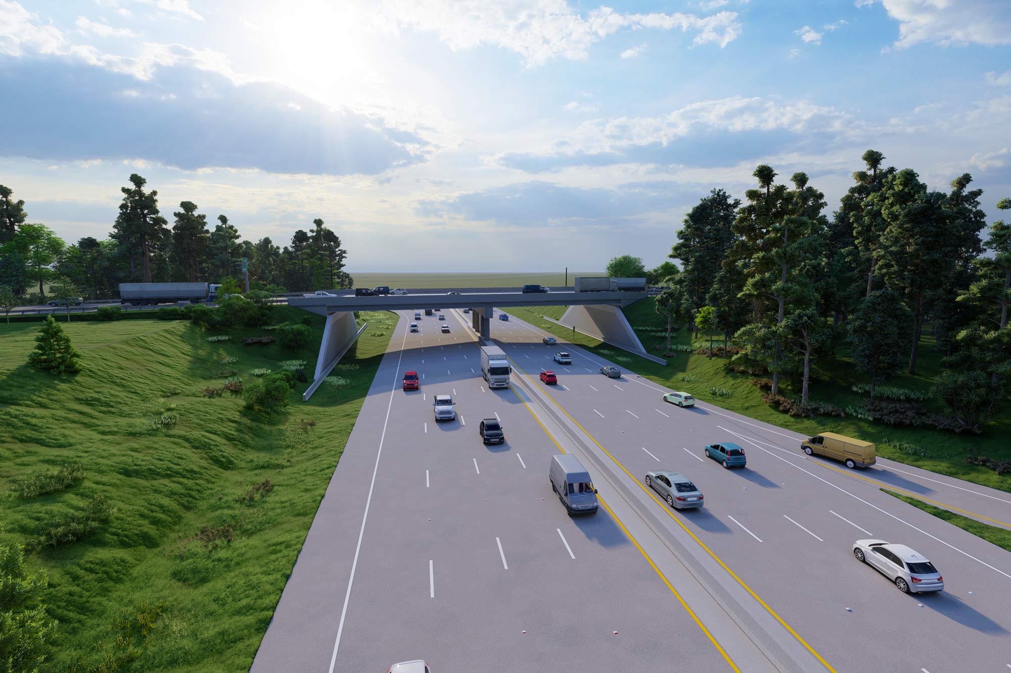 U.S. 1 (AUGUSTA ROAD) I-20 Bridge Replacement